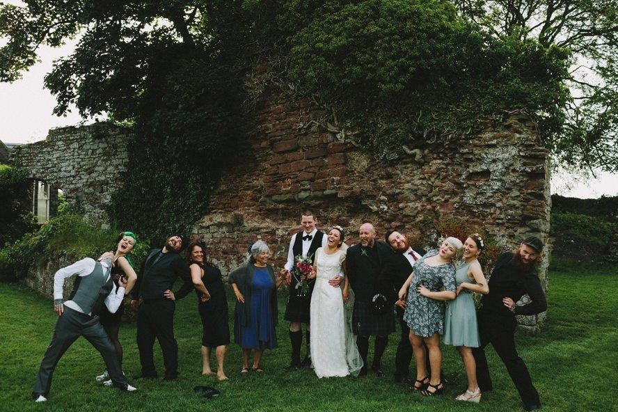 Alternative Wedding Photography Scotland 163