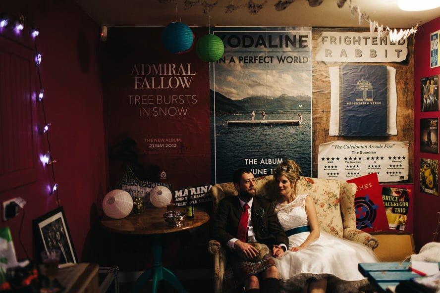 Alternative Wedding Photography Scotland 3431