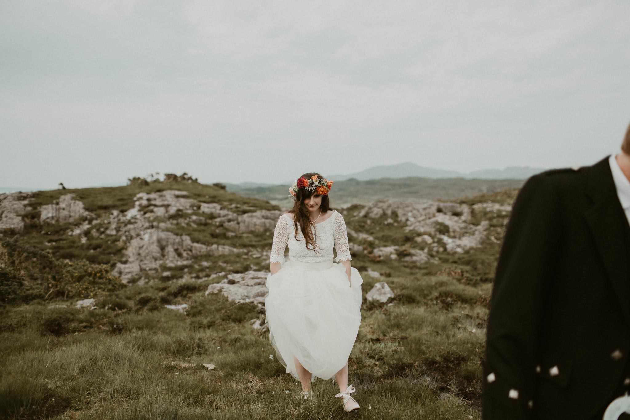 wedding photographer arisaig