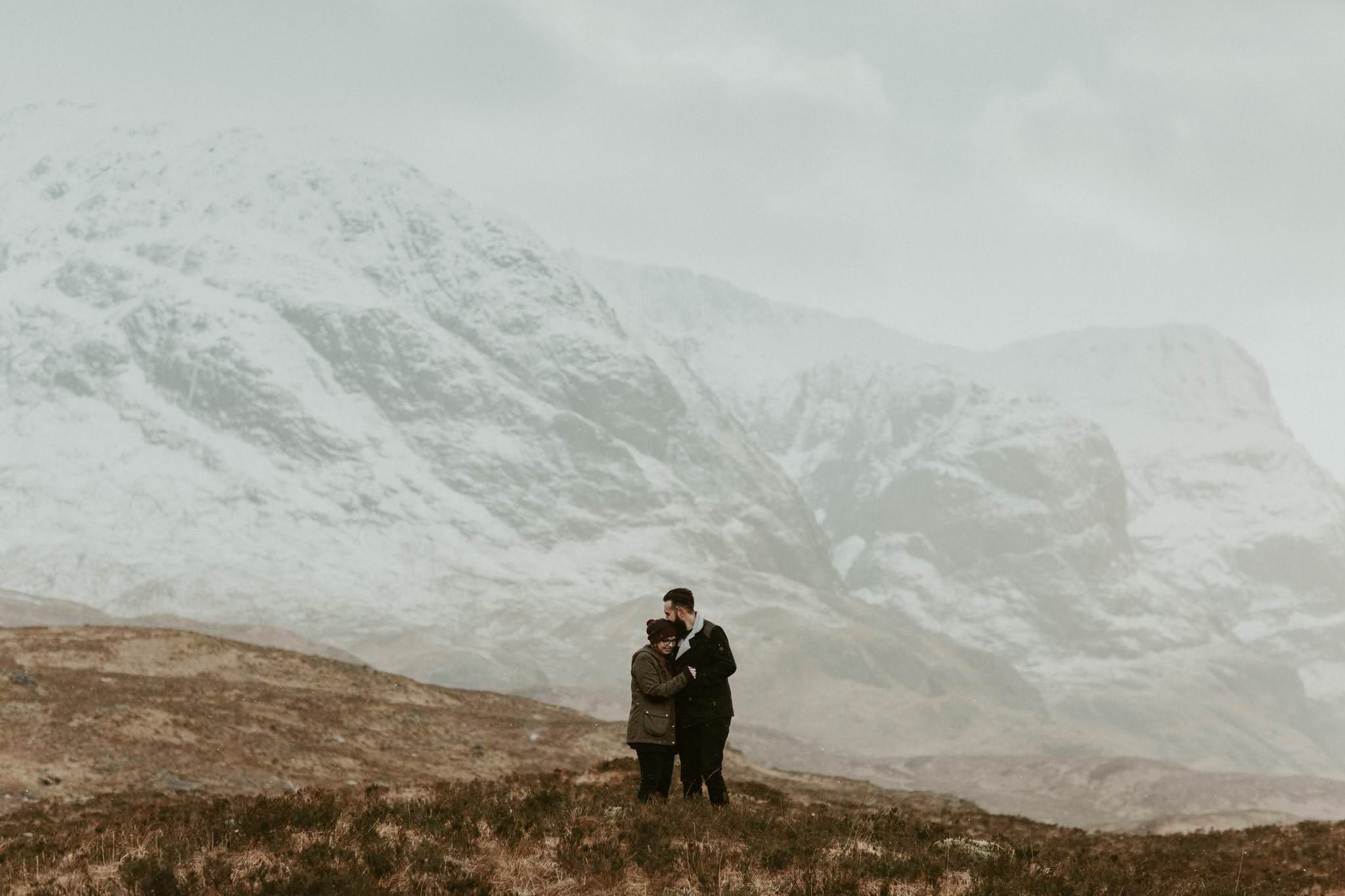 elopement proposal glencoe photos