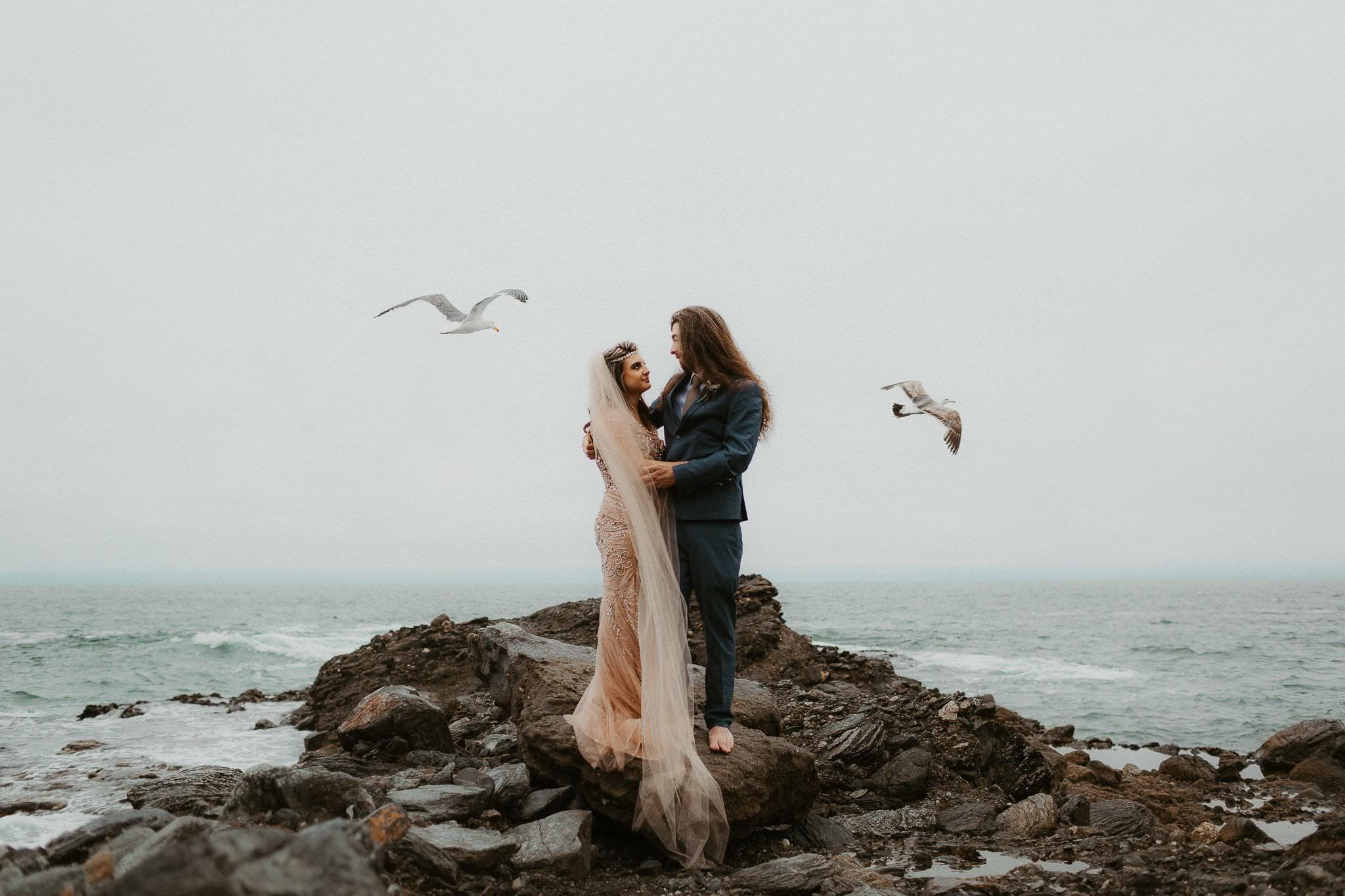 big sur elopement photography