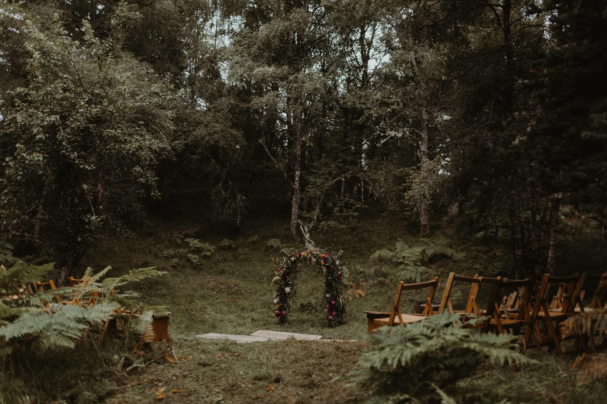 boho forest wedding 029