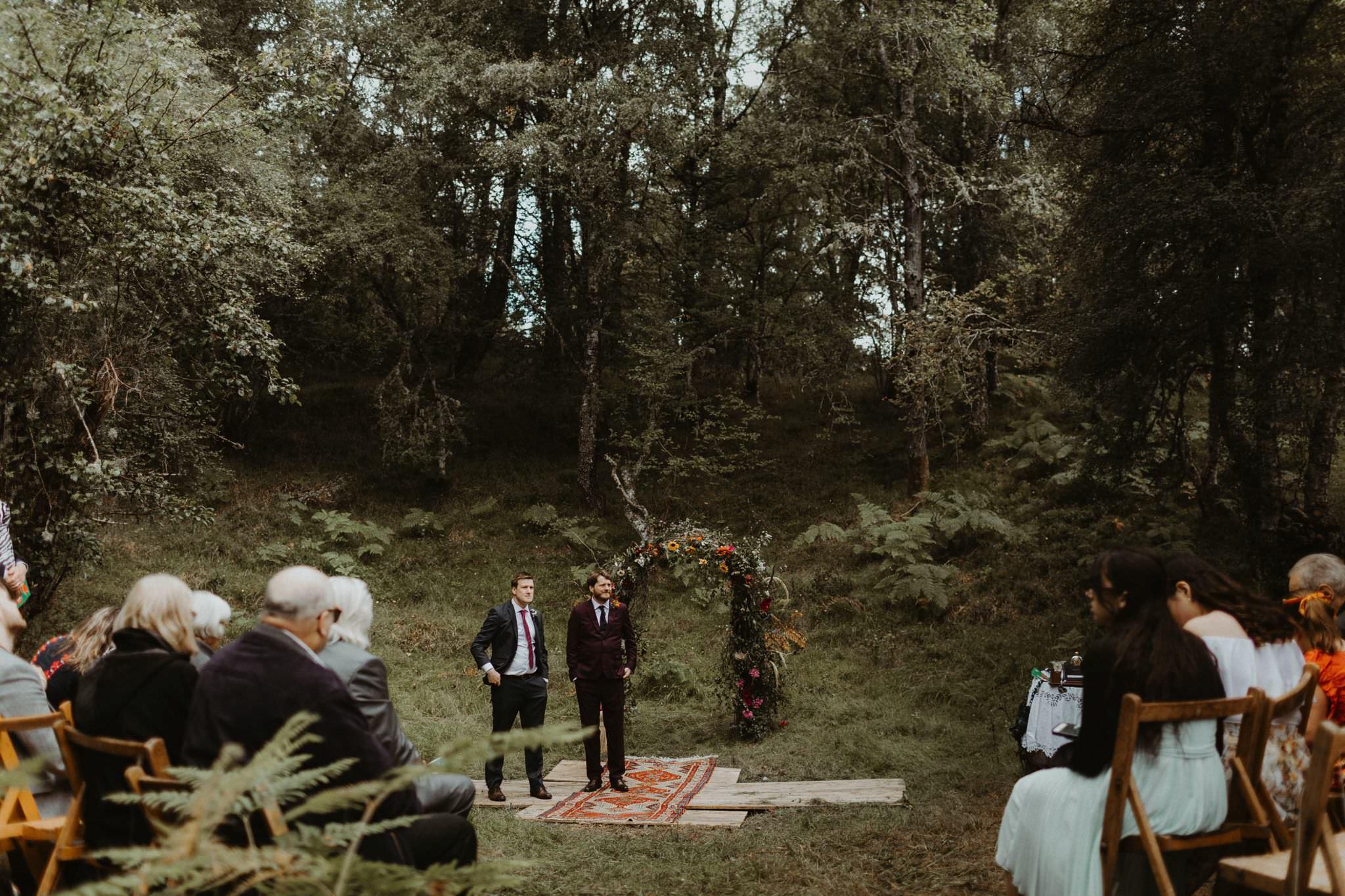 boho forest wedding 045