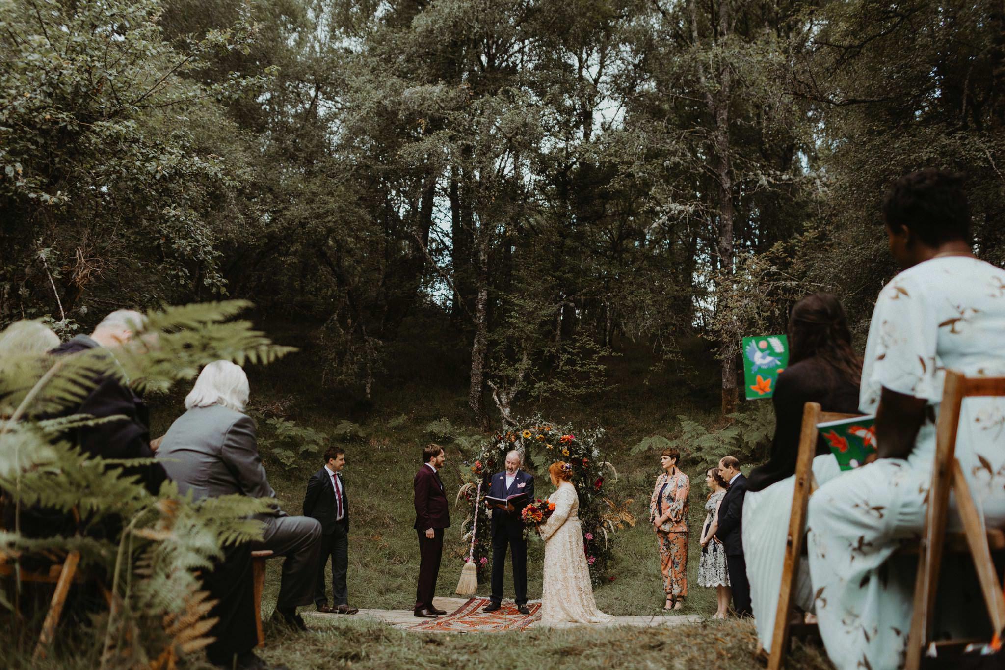 boho forest wedding 055