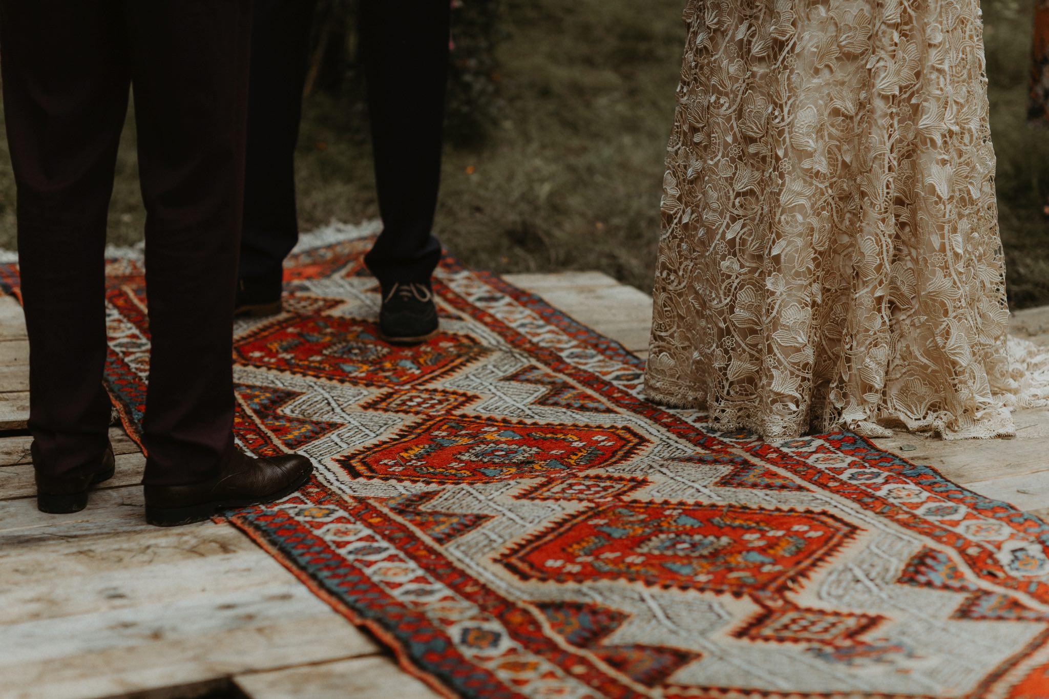 boho forest wedding 070