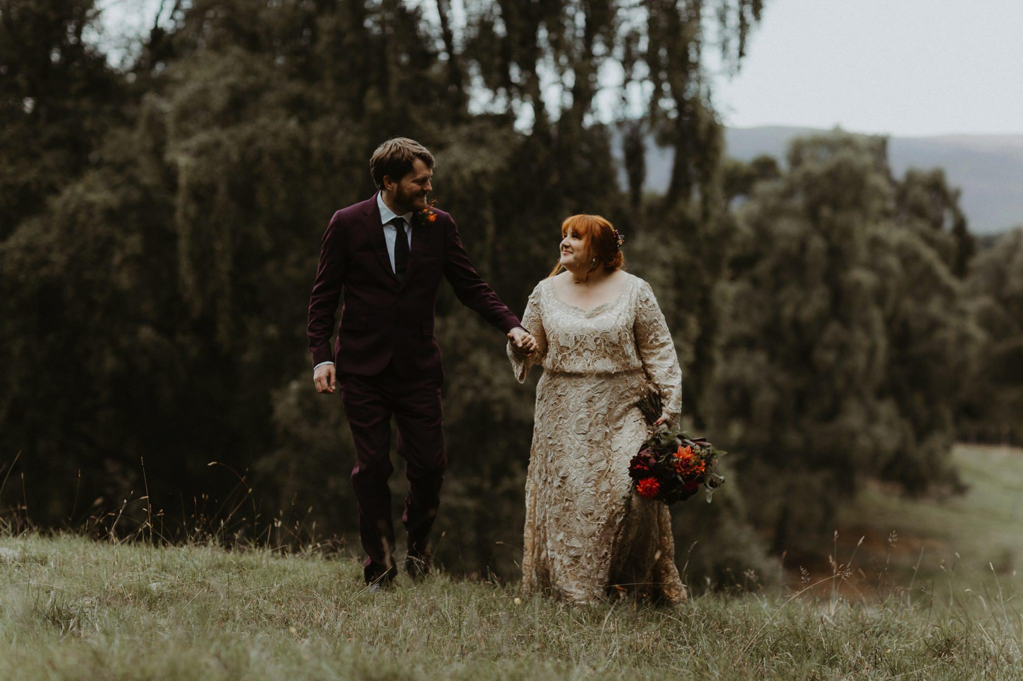 boho forest wedding 098
