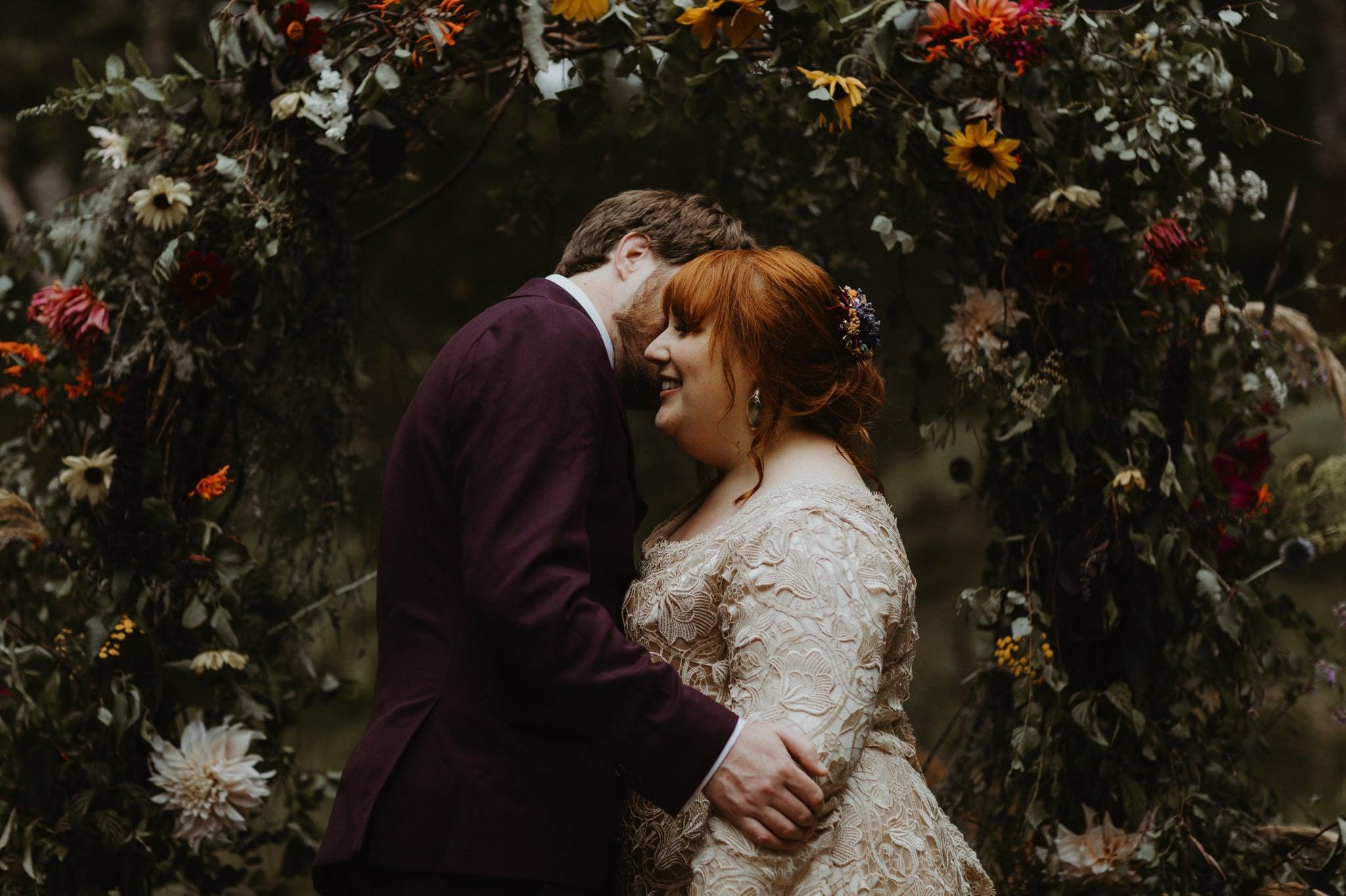 boho forest wedding 102