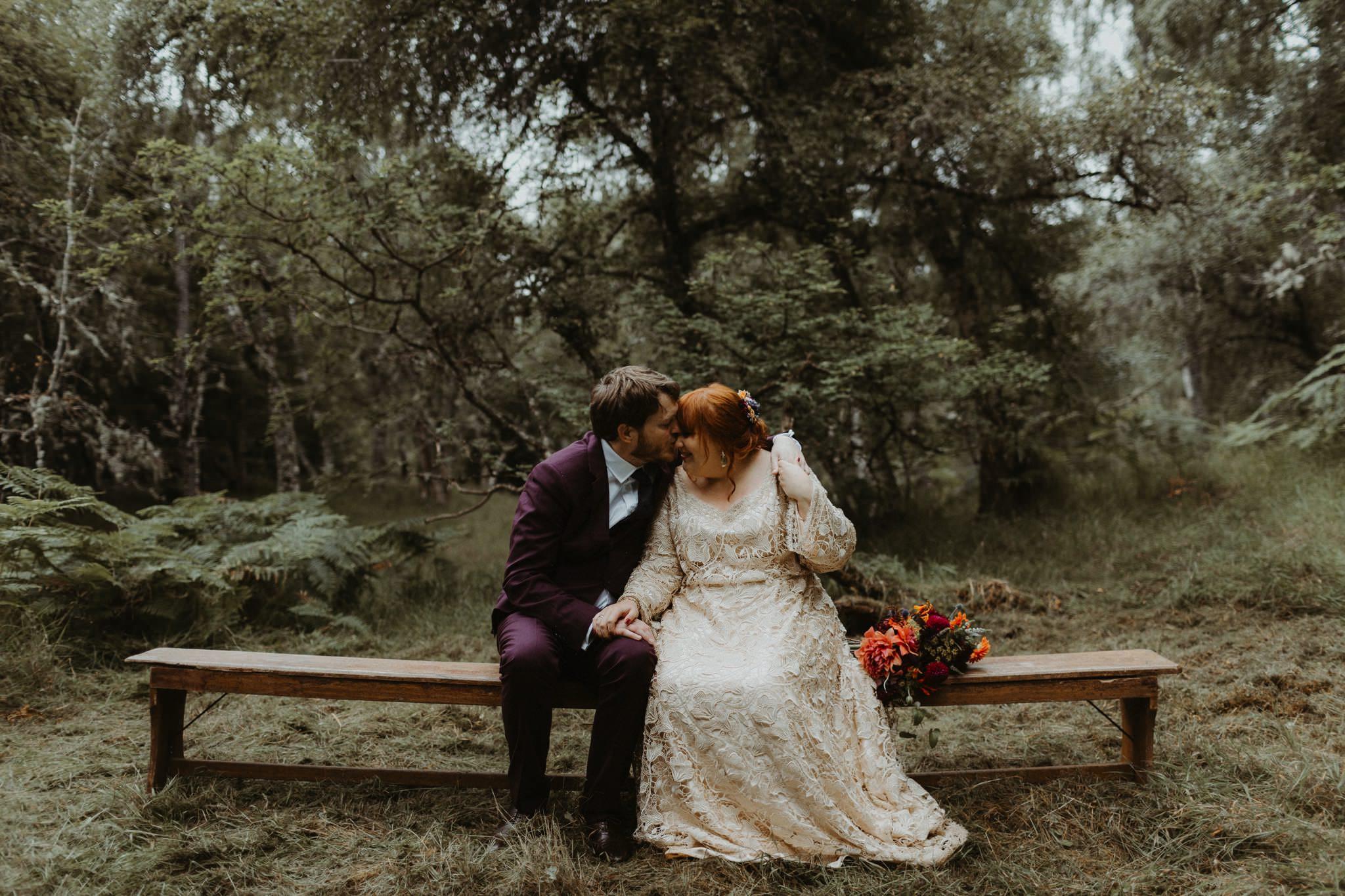 boho forest wedding 107