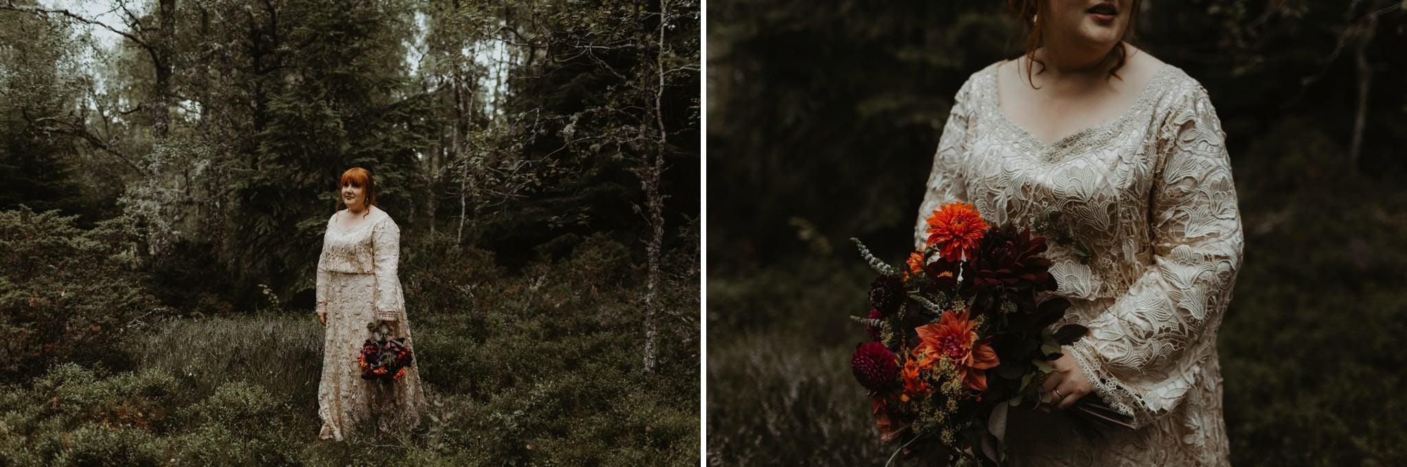 boho forest wedding 109