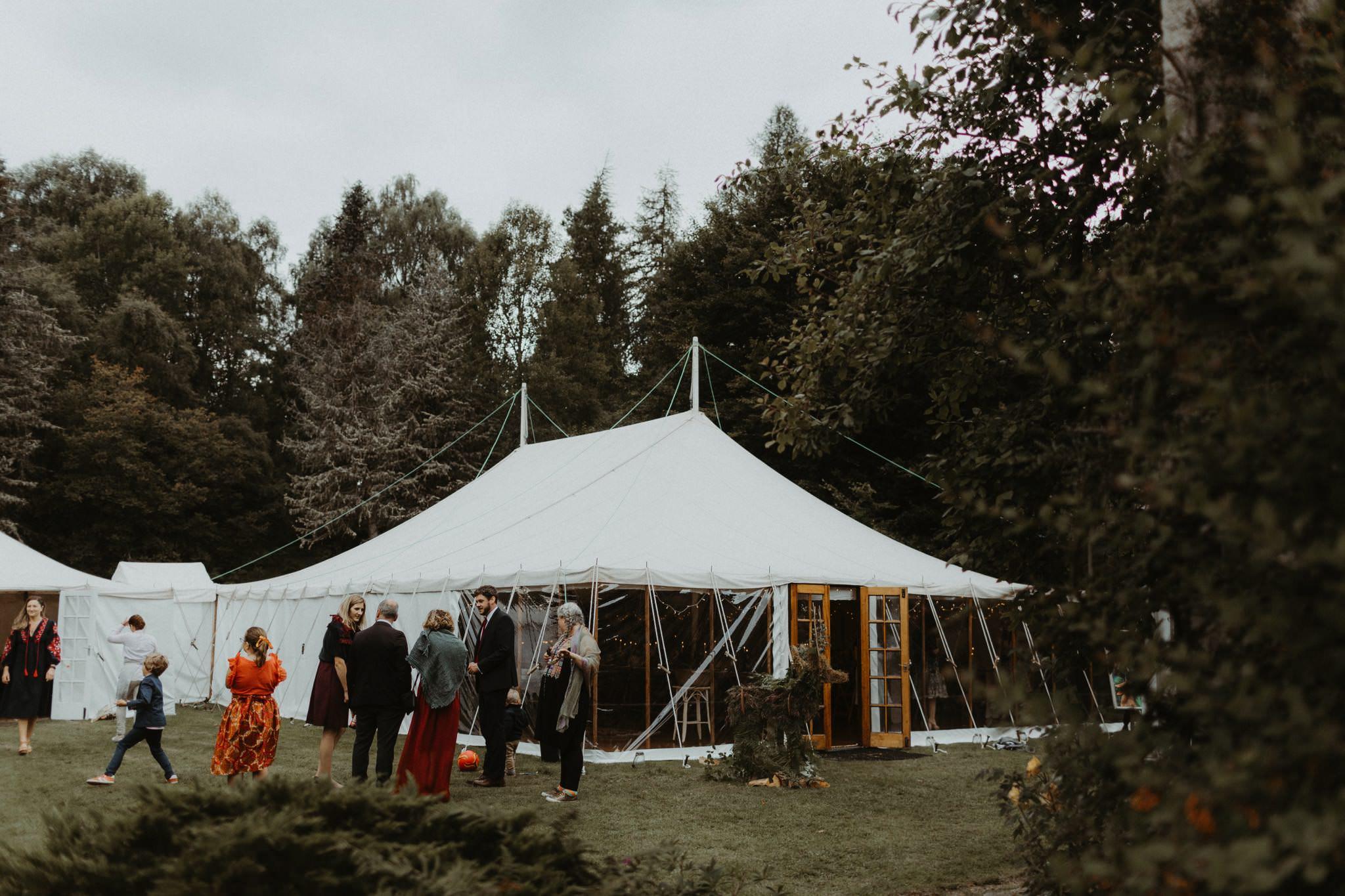 boho forest wedding 123