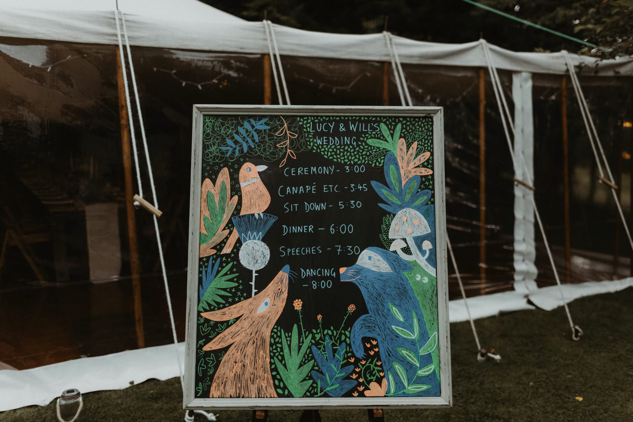 boho forest wedding 124