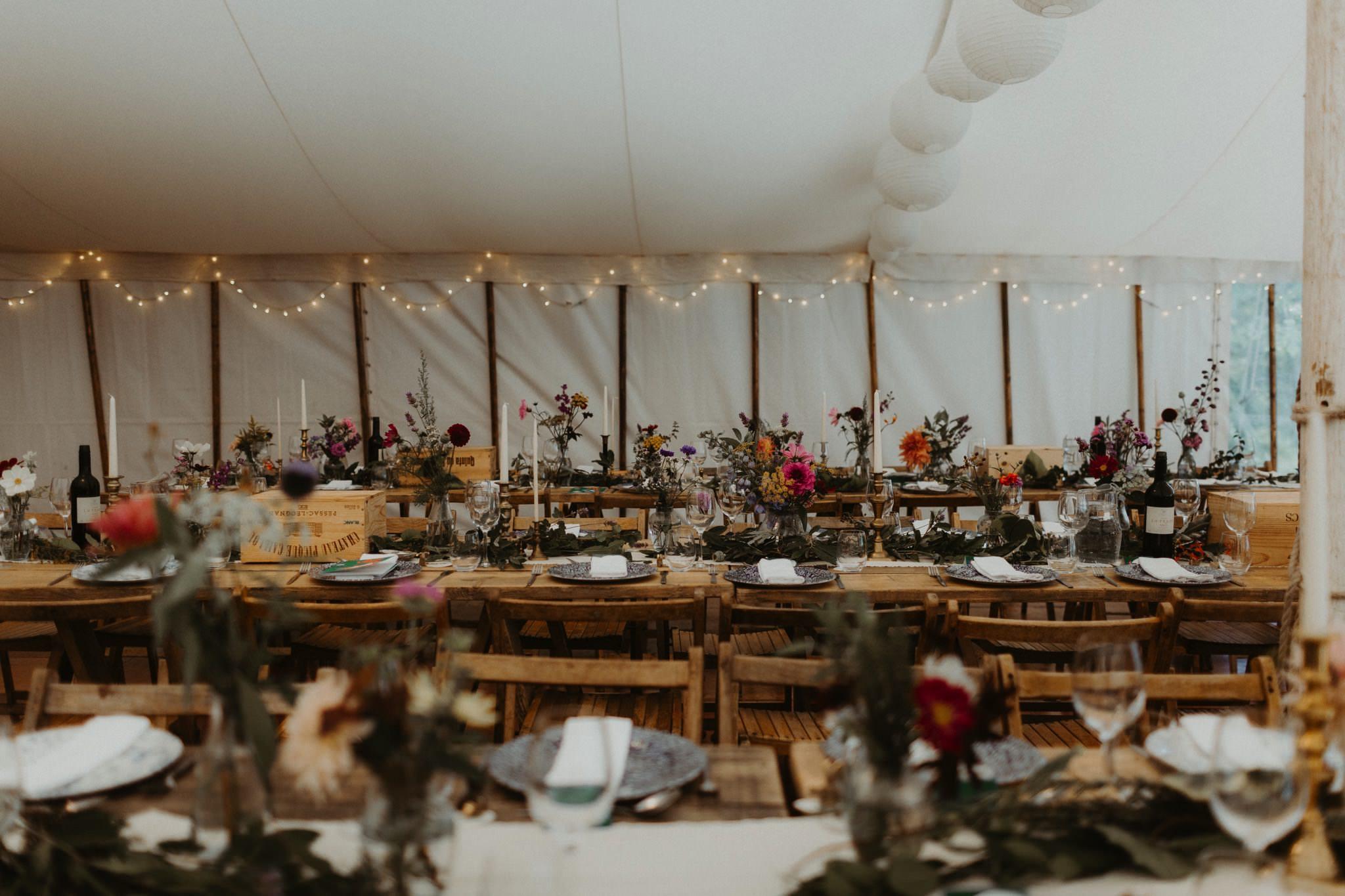 boho forest wedding 125