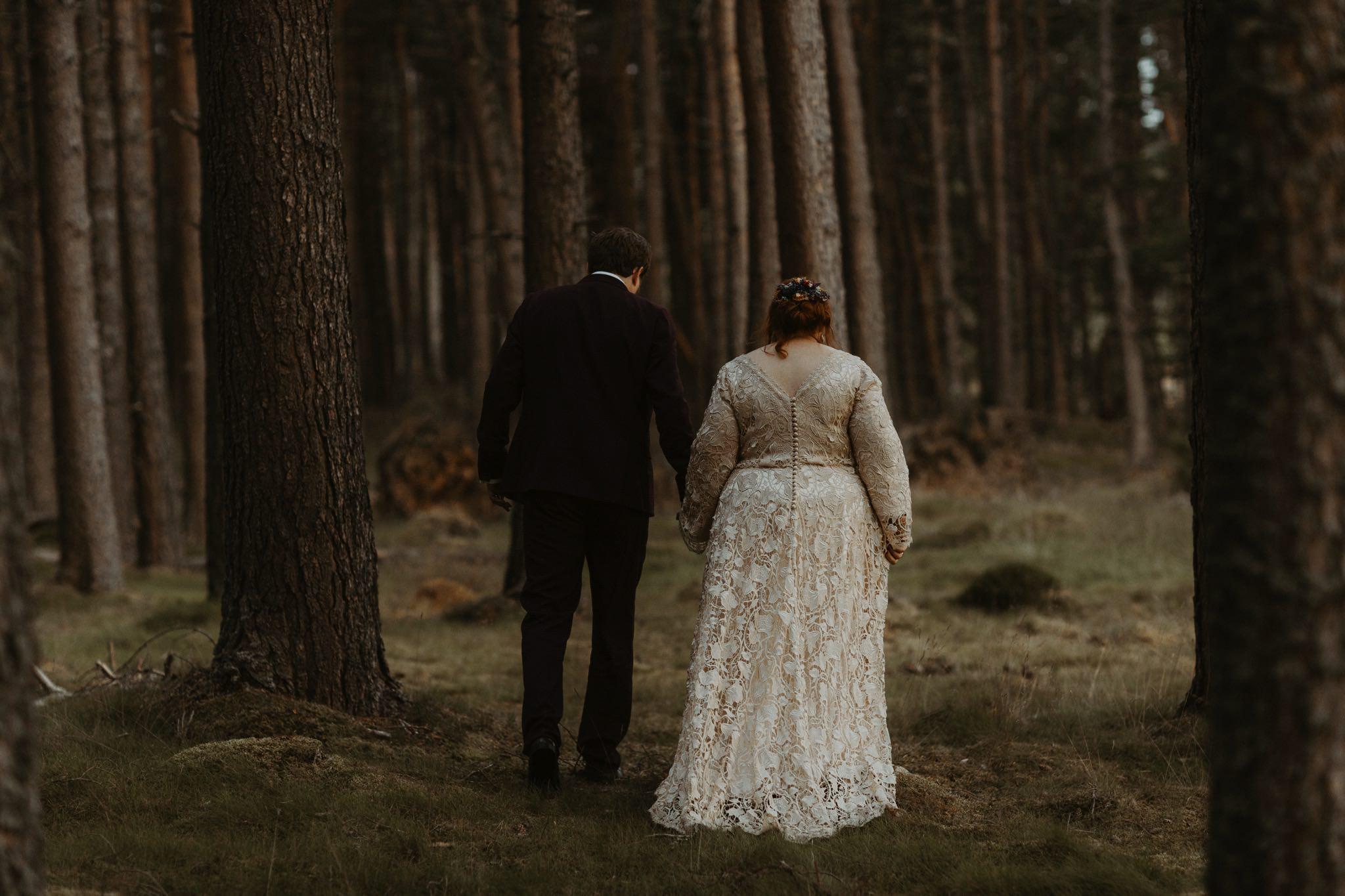 boho forest wedding 164