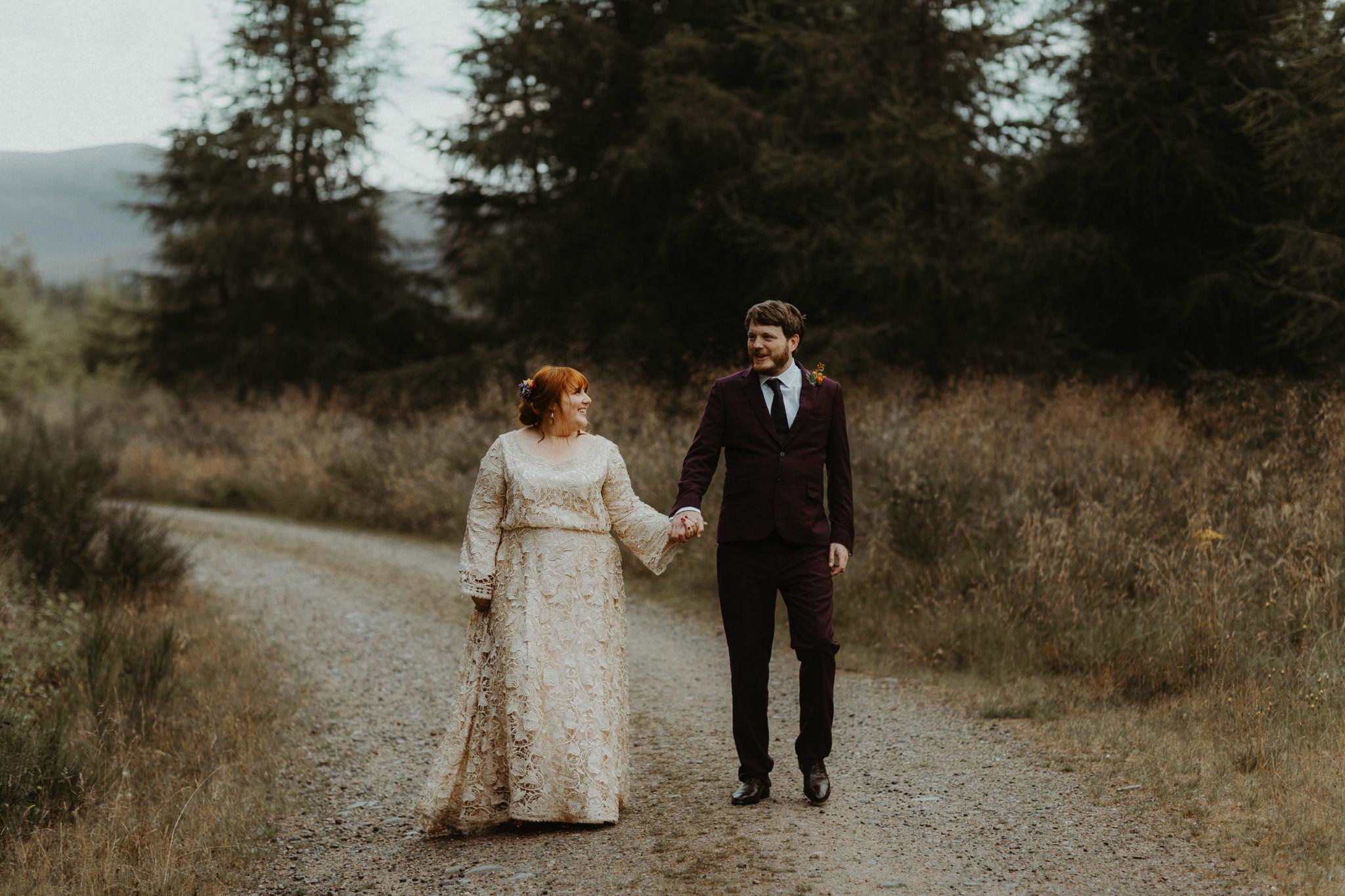 boho forest wedding 169