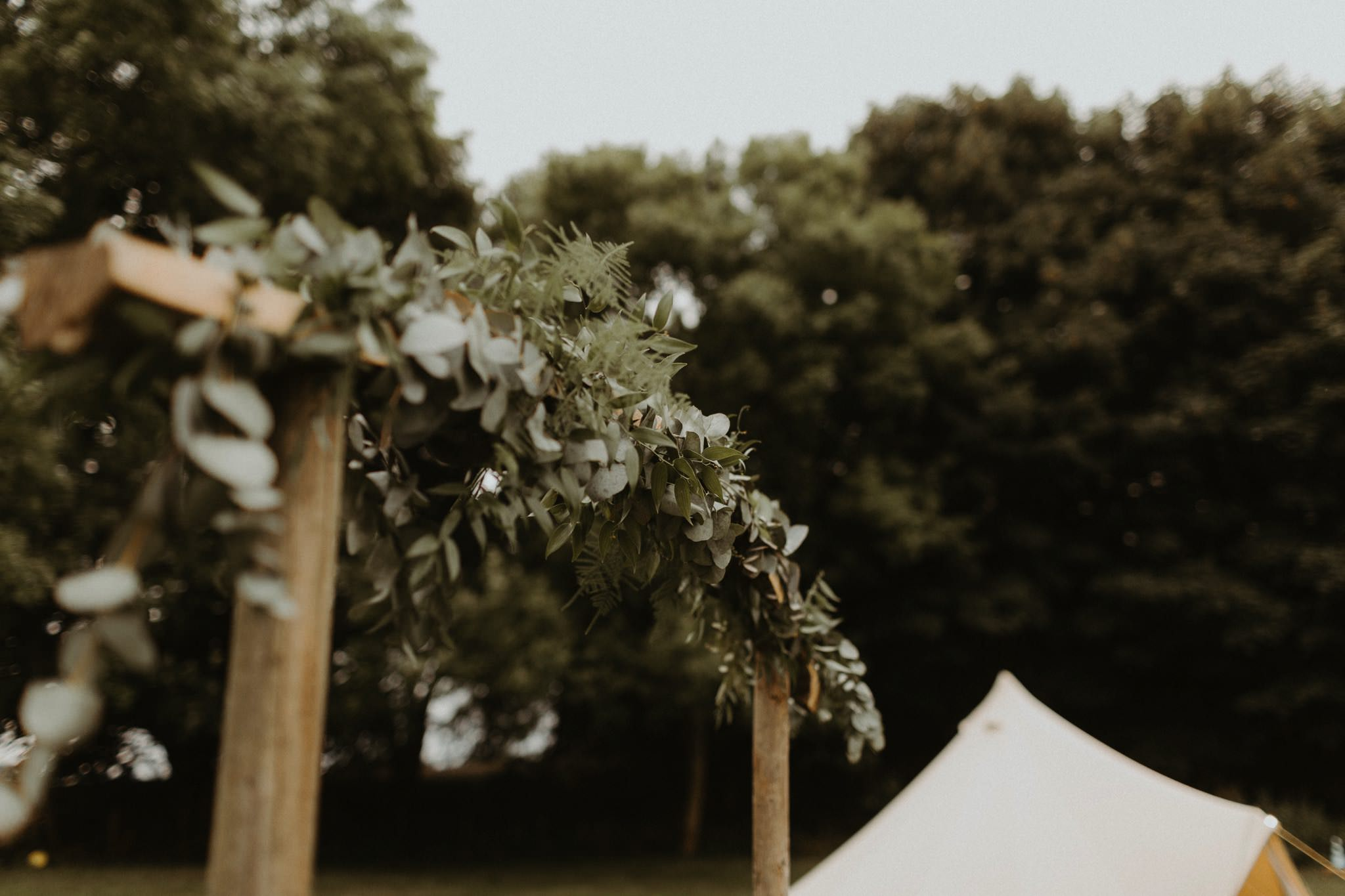 relaxed backyard wedding 131