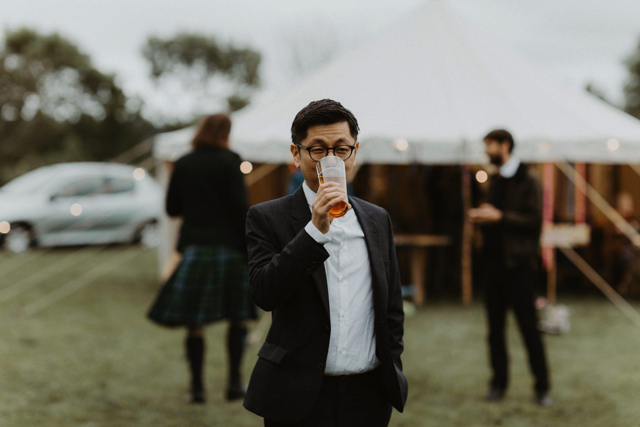 relaxed backyard wedding 149