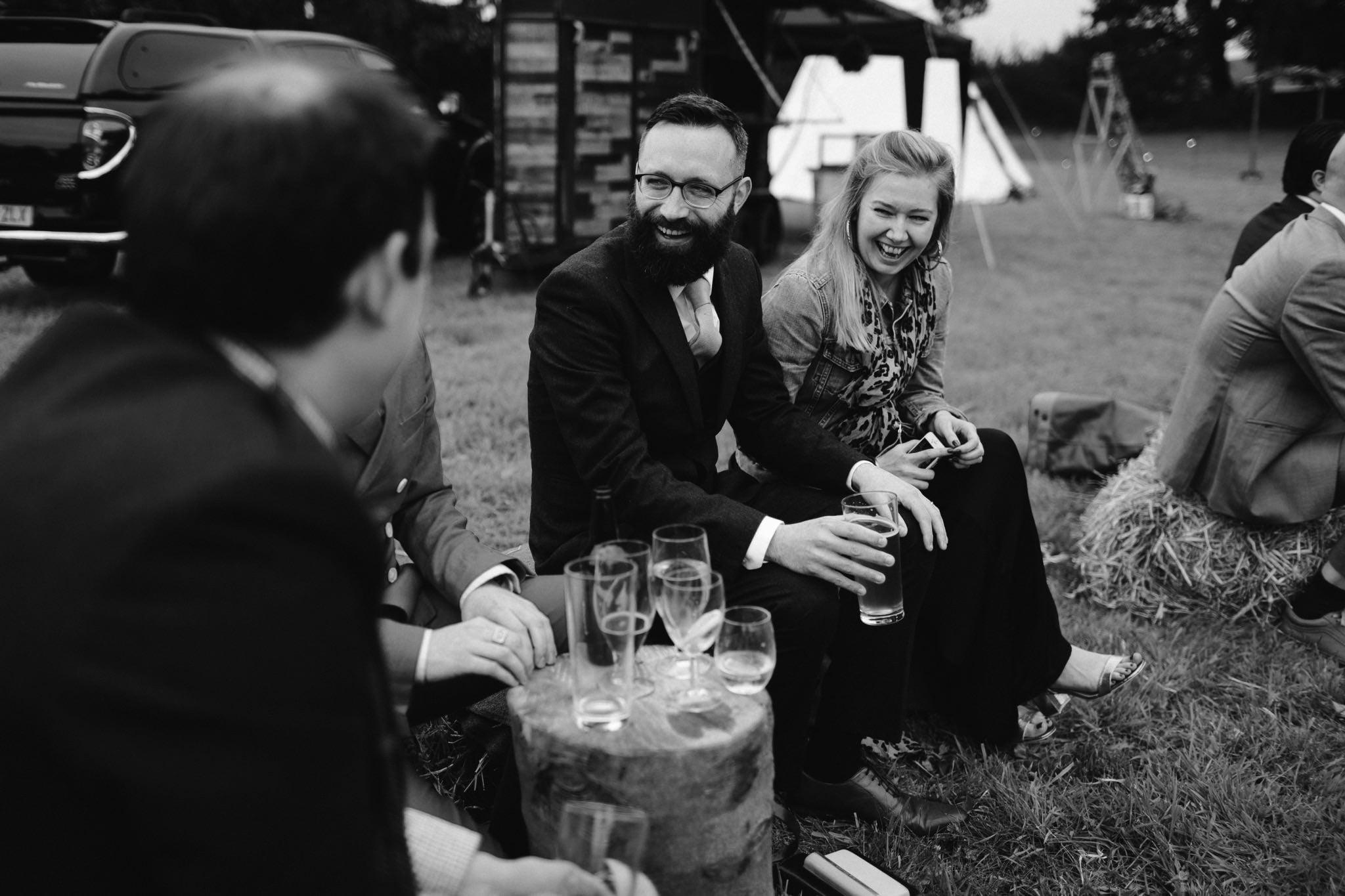 relaxed backyard wedding 150