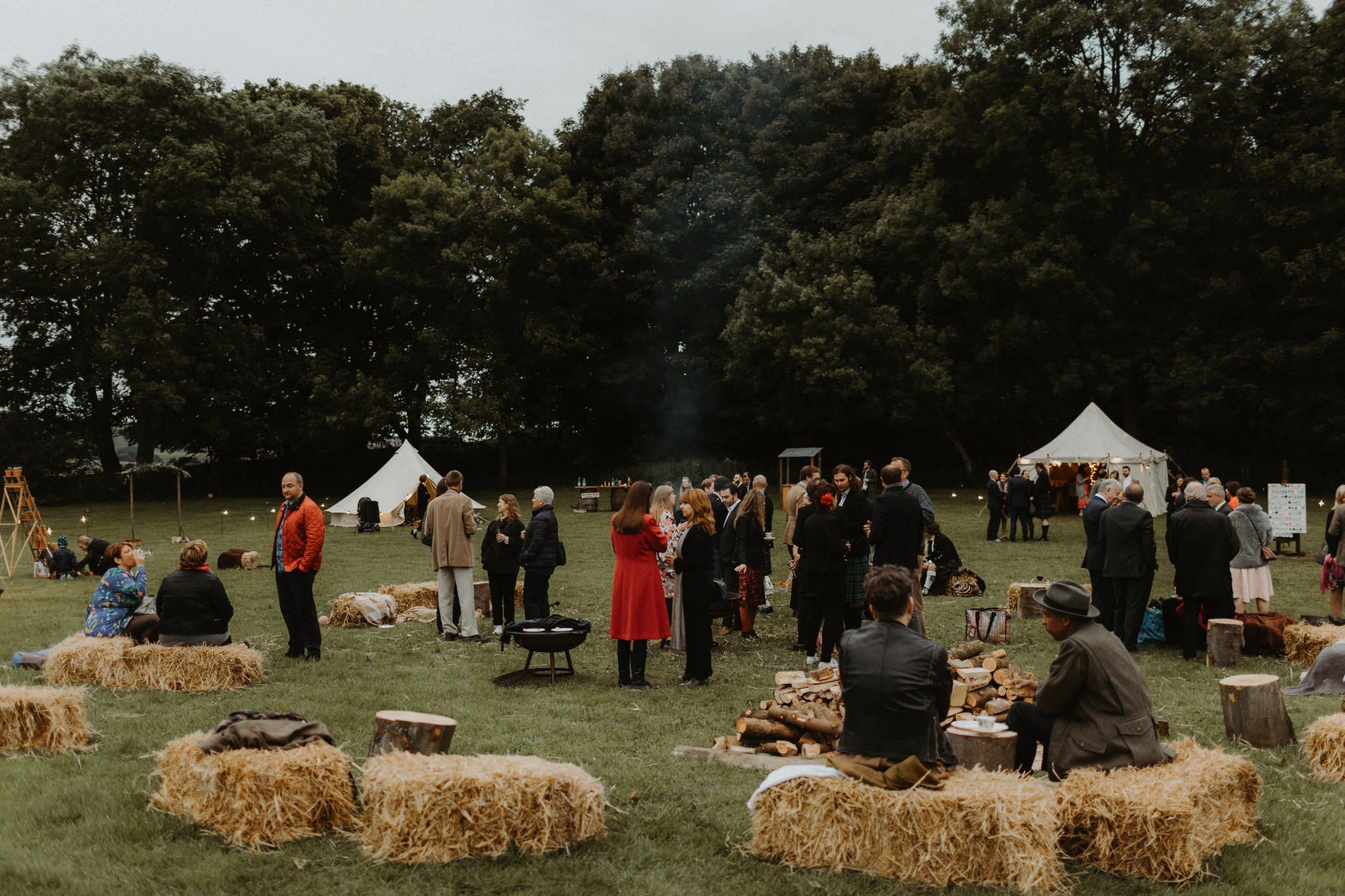 relaxed backyard wedding 184