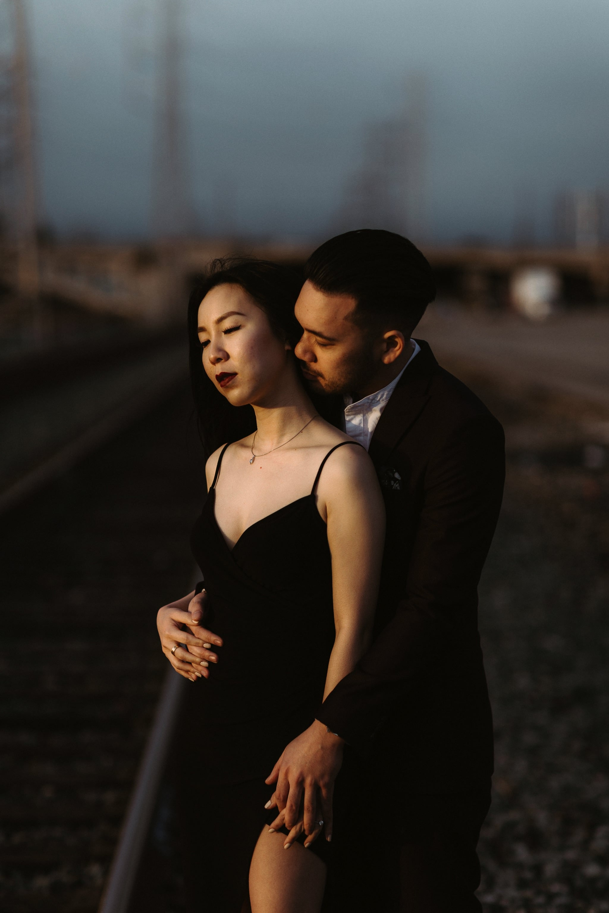 la engagement shoot