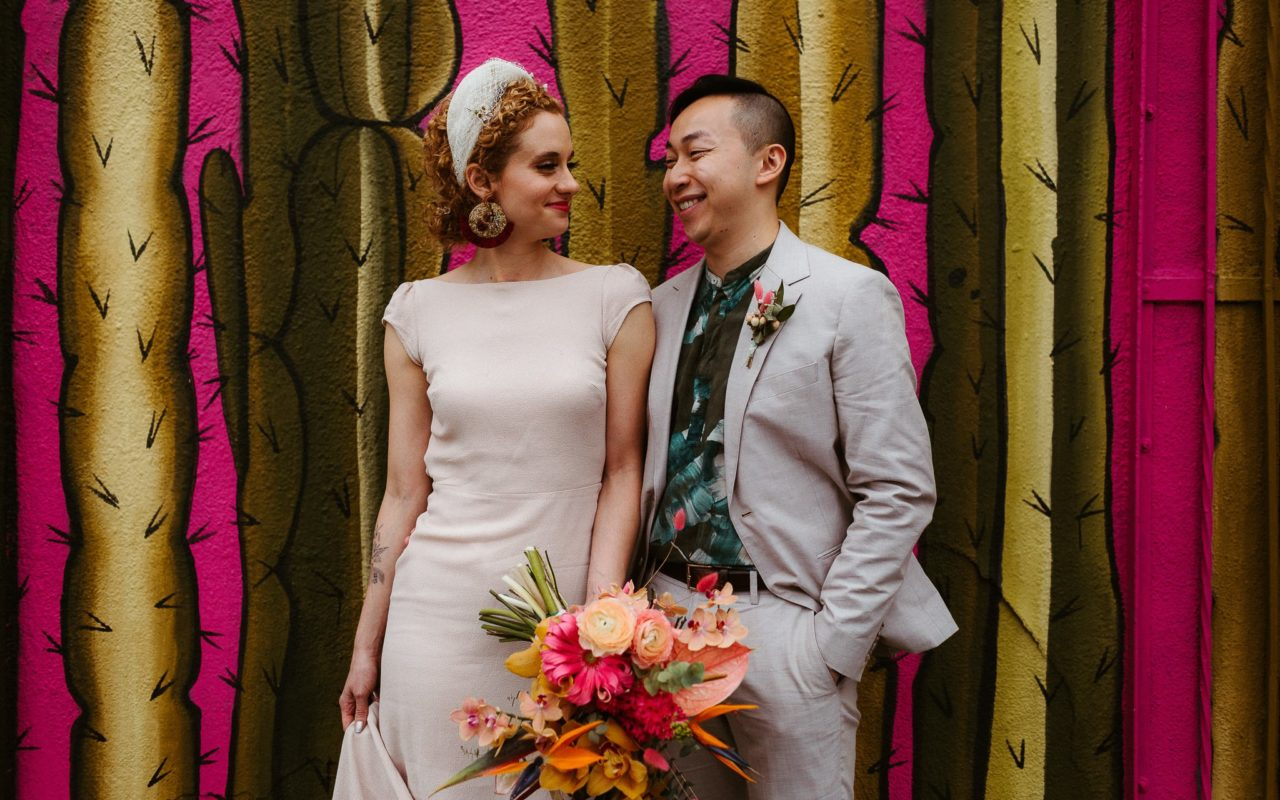downtown los angeles intimate wedding