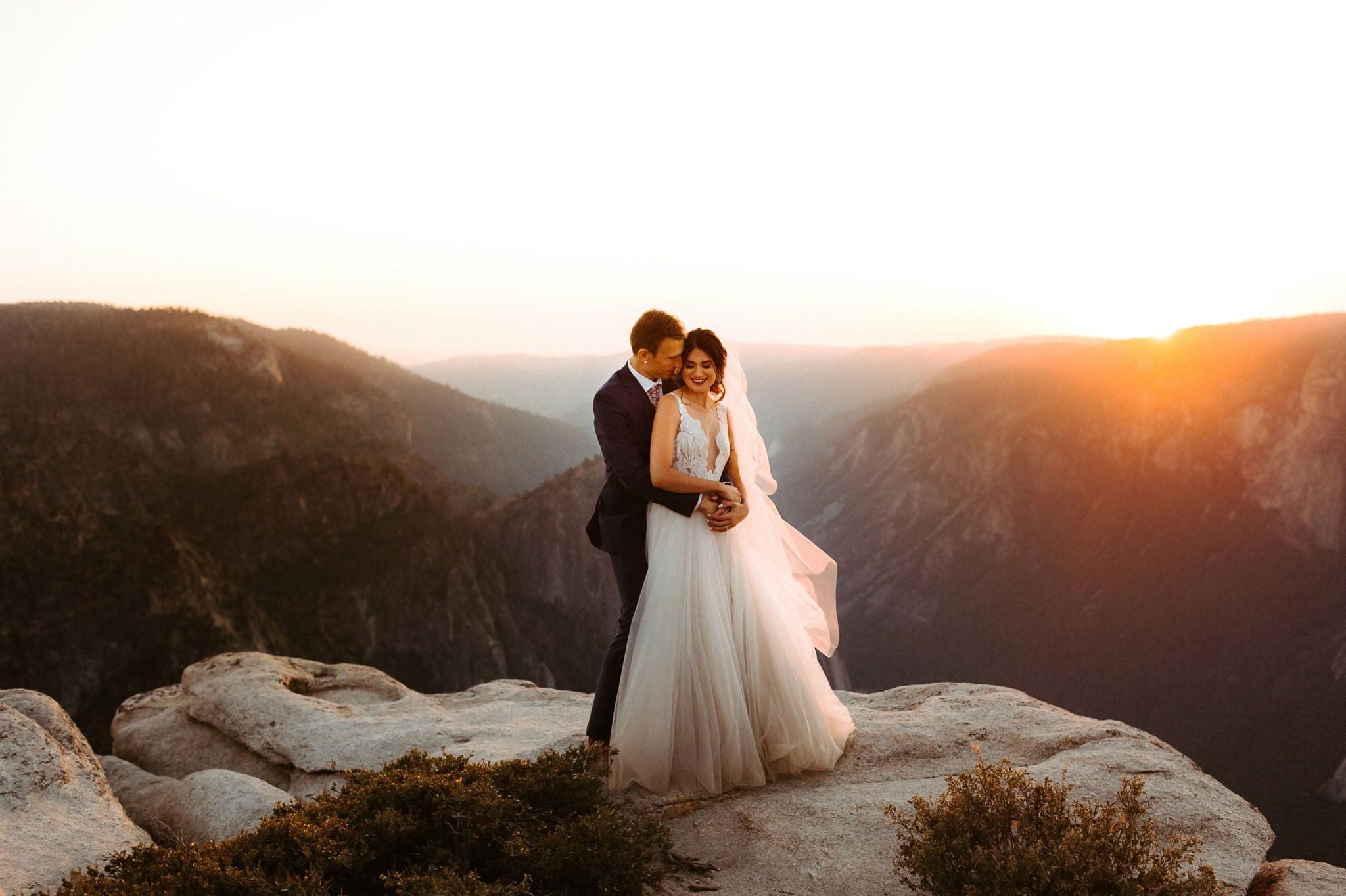 taft point yosemite elopement