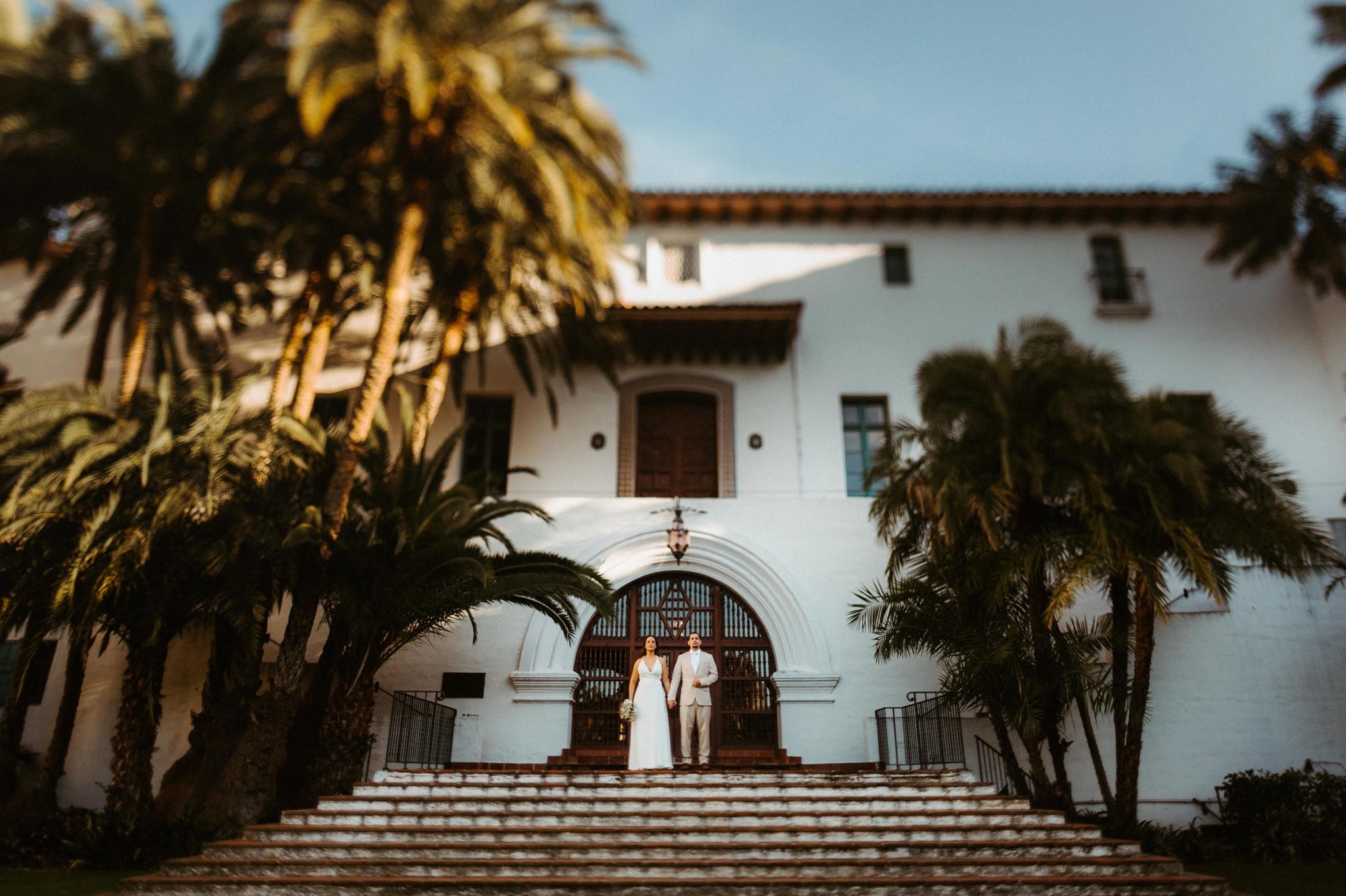 santa barbara courthouse elopement